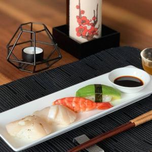 炙りホタテマヨネーズの握り寿司はスイスでも間違いない!