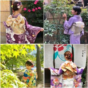秋の京都kimono散歩(成人式前撮り)