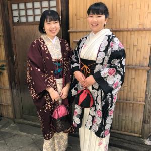 秋の京都kimono散歩 (きものレンタル②)