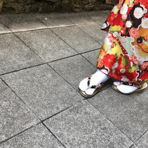 【着物姿のポイント⑤ 歩き方】
