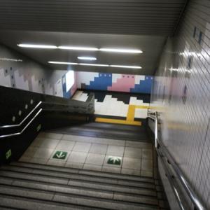【駅に着くと・・・・】最悪のタイミングでした。トホホホ