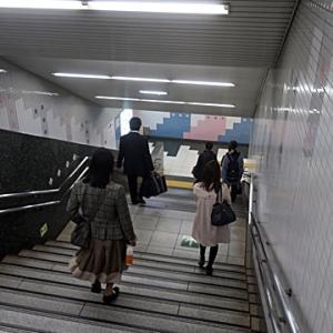 【駅に着いたのは・・・・】実は最悪の時間だったようです