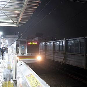 【東横線では日吉を出てから座って・・・】LTE開始です。