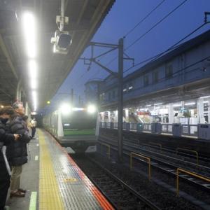 【帰りはJR線に乗ってWiMAX2+】やってみました。