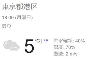 【まだ雨にはなっていないようですね】では帰りましょう