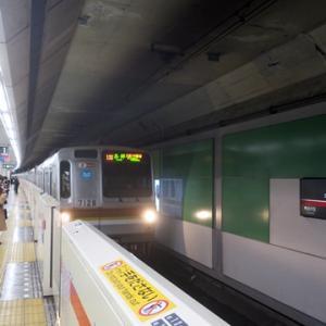 【乗り込んだ東横線では・・・】川を渡って座ってWiMAX2+開始です