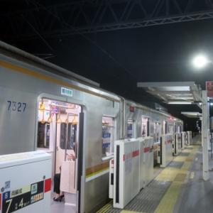 【東横線に乗り換えると・・・】すぐに座ってWiMAX2+開始です。