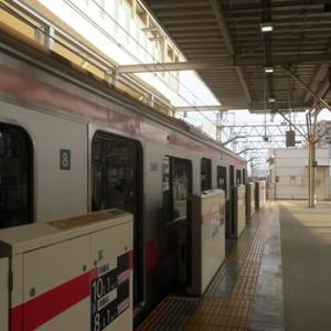 【すぐにやってきた東横線では】すぐに座ってWiMAX2+開始です。