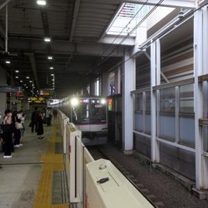 【東横線はかなりの混雑で・・・】座れたのは日吉を出てからでした。