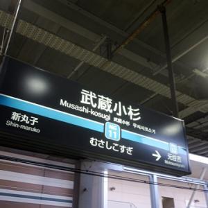 【今日も武蔵小杉で乗り換え】てみましたが・・・・・