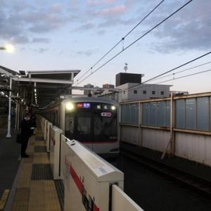 【元住吉から東横線に乗り換えて・・・】すぐに座ってWiMAX2+開始です。