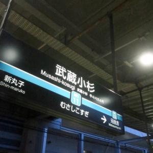 【さあて、今日も武蔵小杉で乗り換え】てみました。