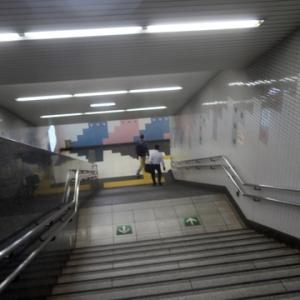【駅ではまださほどの混雑ではない感じ】でしたが・・・・