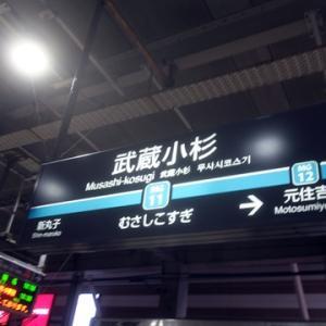 【今日も武蔵小杉で乗り換え】てみました。