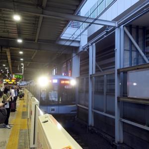 【東横線に乗り込んだら・・・・】早速、座ってWiMAX2+開始です。