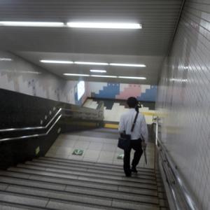 【階段では空いているのかな・・・】と思ったのですが・・・・