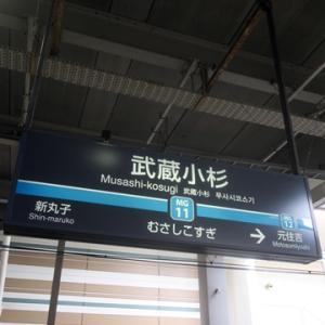 【休日ダイヤ】ということで武蔵小杉で乗り換えてみました。