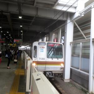 【東横線に乗り換えたら・・・】すぐに座ってWiMAX2+開始です。