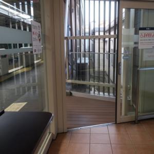 【駅に着いたら・・・】待合室行の運命でした。