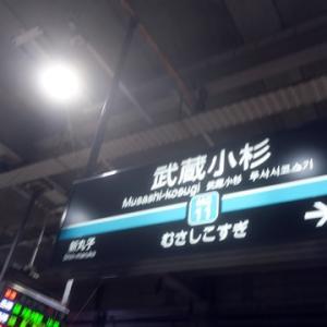 【今日も武蔵小杉で乗り換え】てみました