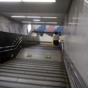 【今日も駅に着いたのは・・・】最悪の時間帯だったようです。