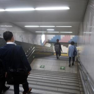 【駅に着くとまだ混雑前】っていう感じでした。