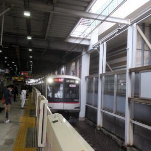 【東横線に乗り換えたら・・・・】すぐに座ってWiMAX2+やってみました。