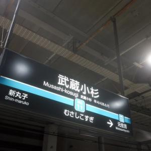 【今日も武蔵小杉で乗り換え】であります。