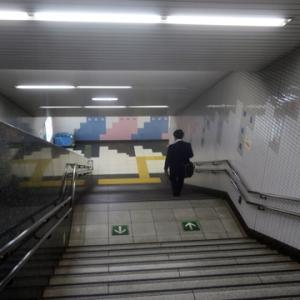 【駅に着いたら・・・・】さすがに休日らしい光景でしたが・・・