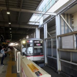 【東横線に乗り換えたら・・】すぐに座ってWiMAX2+開始です。