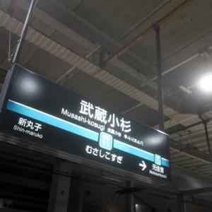 【今日もなんとなく武蔵小杉で】乗り換えてみました。
