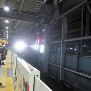 【東横線に乗り換えて・・・】すぐに座ってWiMAX2+開始です。