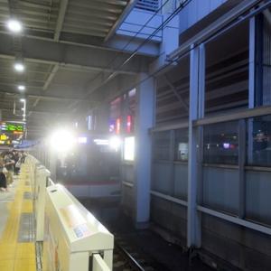 【東横線に乗り換えたら・・】すぐに座ってWiMAX 5Gやってみました
