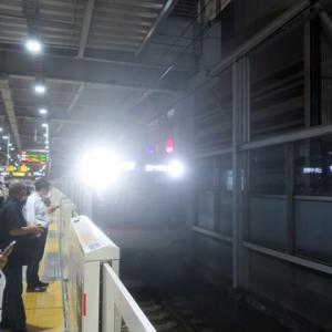 【東横線は混んでいて・・・・】日吉を出てからLTEやってみました。