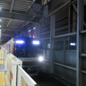 【東横線ではかなり混んでいて・・】日吉を出てからLTEやってみました。