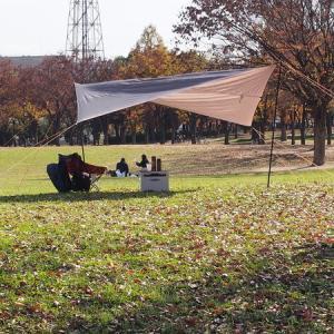 晩秋の自転車キャンプ。といってもデイキャンですけど
