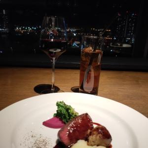 麻酔科医のパテックフィリップと横浜の夜景がきれいなレストランで♪