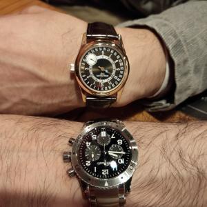 2つの高級時計合わせていくら・・・?