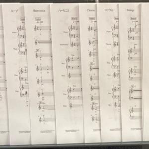 新作!「知床旅順」キーボードアンサンブル楽譜 販売開始しました!