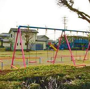 島田第二小学校の近くにある 中溝公園 (静岡県島田市中溝4‐15‐1)