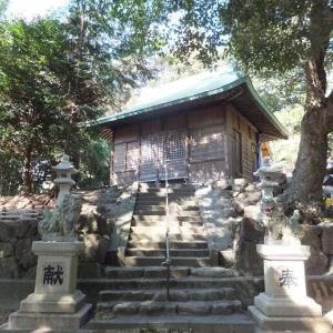 室町時代 天文7年(1538年)創建  八王子神社 (静岡県焼津市方ノ上149)