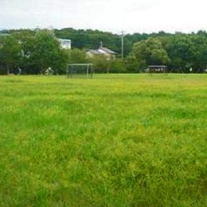 サッカーゴールがあるグラウンド 田尻北公園 (静岡県焼津市田尻北1284外)