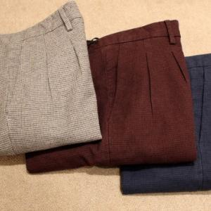 YAN SIMMON  Tapered Fit Trousers