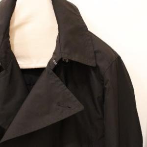 biography Memory Twill Black P-Coat