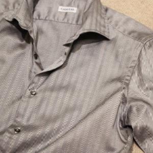 CADETTO ORIGINALS Silver Herringbone Shirts