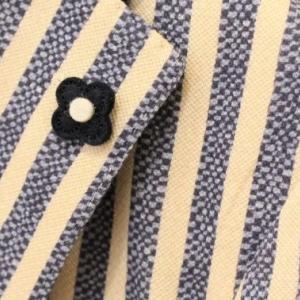LARDINI Stripe Jersey Jacket