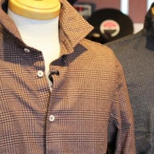 ALTEM FLOWER Glen Check Viyella Shirts