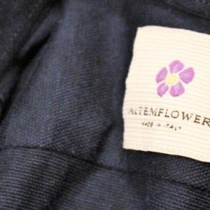 ALTEM FLOWER Navy-blue Knit Shirts