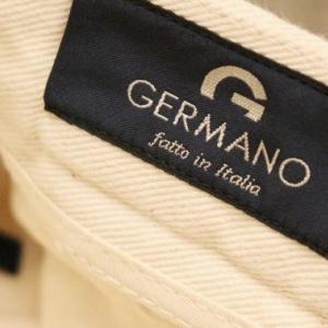 GERMANO Box Pleats Cotton Pants