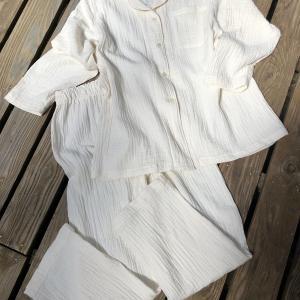 Wガーゼのパジャマ